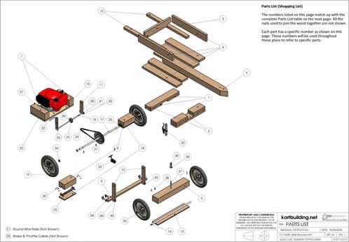Jobbers: Learn How to build a wooden go kart with engine