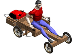 Lawnmower Powered Wooden Go Kart Plans And Instructions