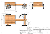 Thumbnail of Wooden Kart Plans